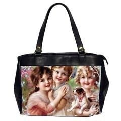 Vintage 1501556 1920 Office Handbags (2 Sides)