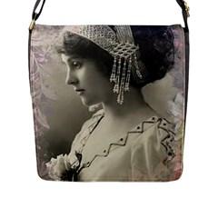 Vintage 1501540 1920 Flap Messenger Bag (l)