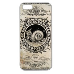 Snail 1618209 1280 Apple Seamless Iphone 5 Case (clear)