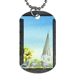 Town 1660455 1920 Dog Tag (two Sides)