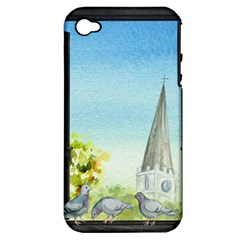 Town 1660455 1920 Apple Iphone 4/4s Hardshell Case (pc+silicone)