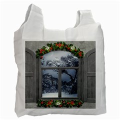 Winter 1660924 1920 Recycle Bag (one Side)