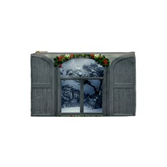 Winter 1660924 1920 Cosmetic Bag (small)