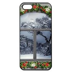 Winter 1660924 1920 Apple Iphone 5 Seamless Case (black)