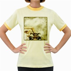 Background 1660942 1920 Women s Fitted Ringer T Shirts