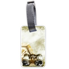 Background 1660942 1920 Luggage Tags (one Side)