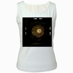 Steampunk 1636156 1920 Women s White Tank Top