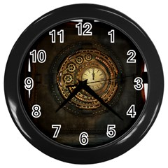 Steampunk 1636156 1920 Wall Clocks (black)