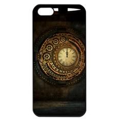 Steampunk 1636156 1920 Apple Iphone 5 Seamless Case (black)