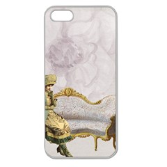 Background 1659612 1920 Apple Seamless Iphone 5 Case (clear)