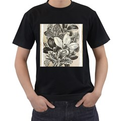 Flowers 1776382 1280 Men s T Shirt (black)