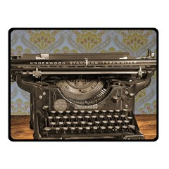 Typewriter Fleece Blanket (small)