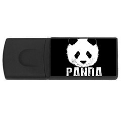 Panda  Rectangular Usb Flash Drive