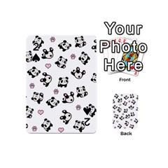 Panda Pattern Playing Cards 54 (mini)