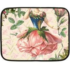 Flower Girl Fleece Blanket (mini)