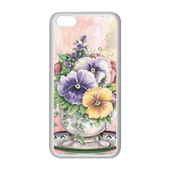 Lowers Pansy Apple Iphone 5c Seamless Case (white)