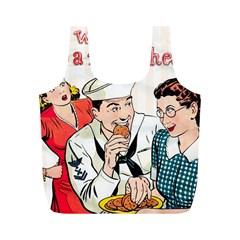 Retro 1326258 1920 Full Print Recycle Bags (m)