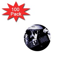 Street Dogs 1  Mini Buttons (100 Pack)
