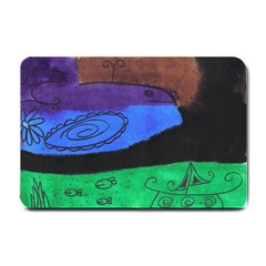 Purple Whale Small Doormat