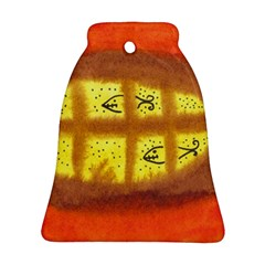 Fish Egg Bell Ornament (two Sides)