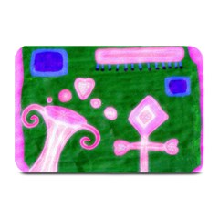 Hearts For The Pink Cross Plate Mats