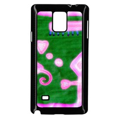 Hearts For The Pink Cross Samsung Galaxy Note 4 Case (black)