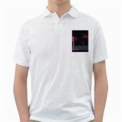 Lips Golf Shirts