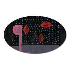 Lips Oval Magnet