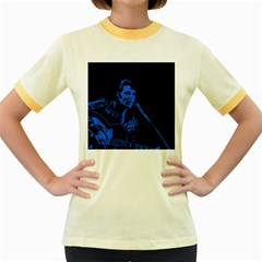 Elvis Presley Jailhouse Rock Women s Fitted Ringer T Shirts