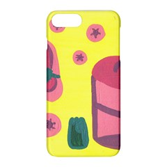 Candy Pink Hat Apple Iphone 8 Plus Hardshell Case