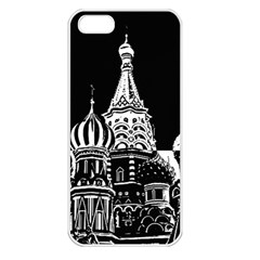 Moscow Apple Iphone 5 Seamless Case (white)