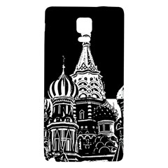 Moscow Galaxy Note 4 Back Case