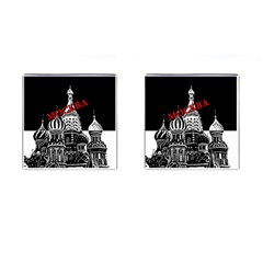 Moscow Cufflinks (square)