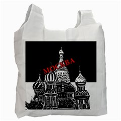 Moscow Recycle Bag (one Side)