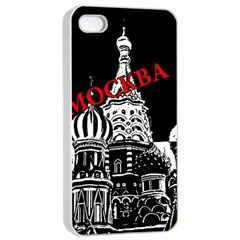 Moscow Apple Iphone 4/4s Seamless Case (white)