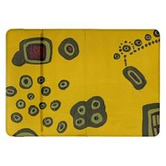 Peas Four Leaf Clover Samsung Galaxy Tab 8 9  P7300 Flip Case