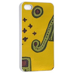 Indian Violin Apple Iphone 4/4s Seamless Case (white)
