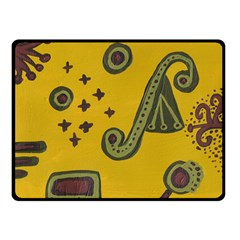 Indian Violin Double Sided Fleece Blanket (small)