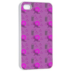 Punk Baby Violet Apple Iphone 4/4s Seamless Case (white)