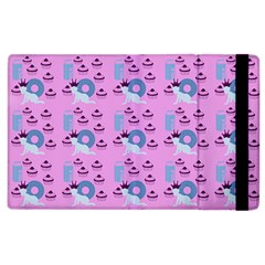 Punk Baby Pink Apple Ipad 3/4 Flip Case
