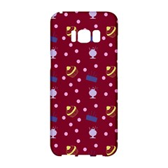 Cakes And Sundaes Red Samsung Galaxy S8 Hardshell Case