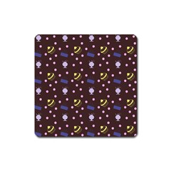 Cakes And Sundaes Chocolate Square Magnet
