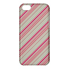 Candy Diagonal Lines Apple Iphone 5c Hardshell Case