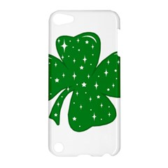 Sparkly Clover Apple Ipod Touch 5 Hardshell Case