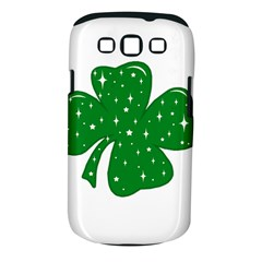 Sparkly Clover Samsung Galaxy S Iii Classic Hardshell Case (pc+silicone)