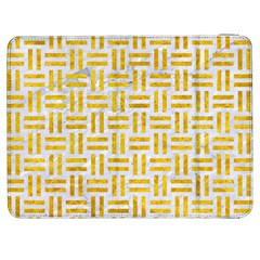 Woven1 White Marble & Yellow Marble (r) Samsung Galaxy Tab 7  P1000 Flip Case