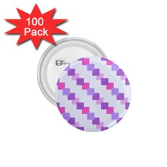 Geometric Squares 1 75  Buttons (100 Pack)