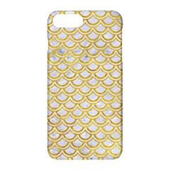 Scales2 White Marble & Yellow Marble (r) Apple Iphone 8 Plus Hardshell Case