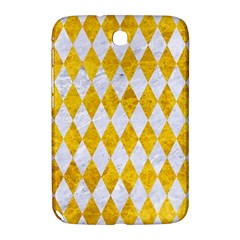 Diamond1 White Marble & Yellow Marble Samsung Galaxy Note 8 0 N5100 Hardshell Case