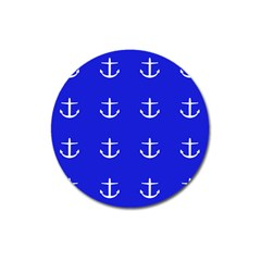 Royal Anchors Magnet 3  (round)